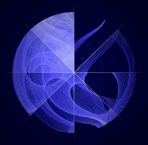 28.fev.2013 - Mosaico combina em uma só imagem oito fases diferentes do movimento de rastreamento do Fermi, telescópio espacial de raios gama que orbita a Terra a cada 95 minutos. O equipamento da Nasa (Agência Espacial Norte-Americana) estuda as fontes de raios gama, a energia mais alta em forma de luz, para desvendar os mistérios do espaço, como buraco negros e supernovas