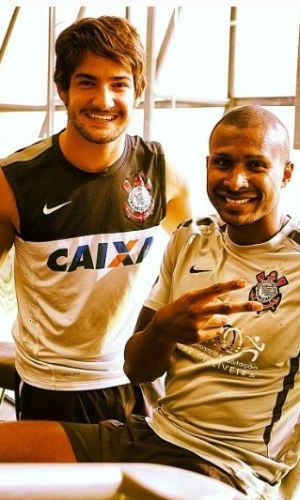 Alexandre Pato e Leandrinho
