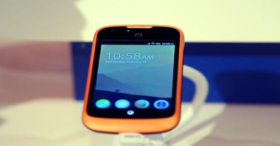 aparelho com Firefox OS