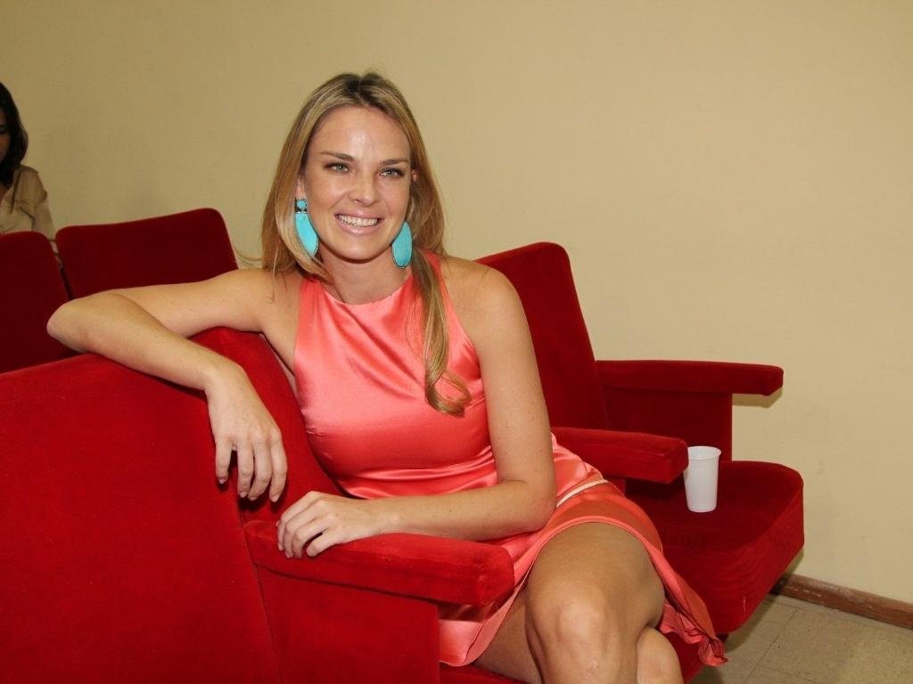 1.mar.2013 - Letícia Birkheuer Centro de Acolhimento Marcos Paulo, no Rio. A casa tem por finalidade ajudar crianças com câncer