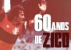 Zico comemora 60 anos; confira detalhes da carreira do ídolo do Fla