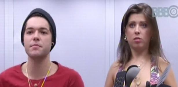 3.mar.2013 - Nasser e Andressa tomam café da manhã e o gaúcho comenta que briga de Marcello e Kamilla por louça foi