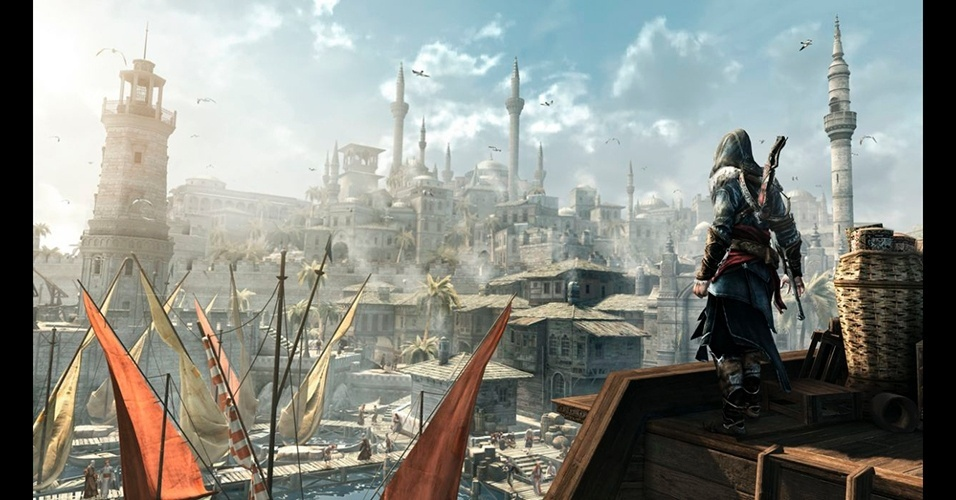 "Ambientado em Constantinopla, ""Assassin's Creed: Revelations"" é o capítulo final da saga do galã italiano Ezio."