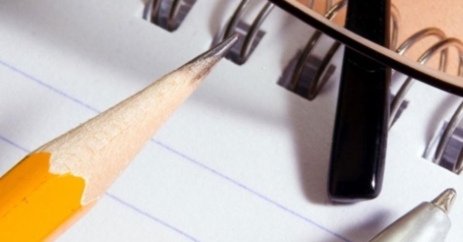 bloco de anotações, folha, papel, rascunho, lápis, caneta, anotar, lista, listar