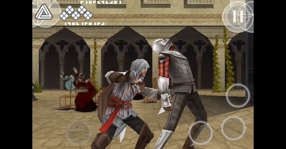 "De 2009, ""Assassin's Creed II: Discovery"" levou as aventuras de Ezio para o DS e celulares."
