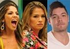 """Nasser, Anamara e Fani estão no paredão. Quem deve sair do """"BBB13""""? - Reprodução/Globo"""