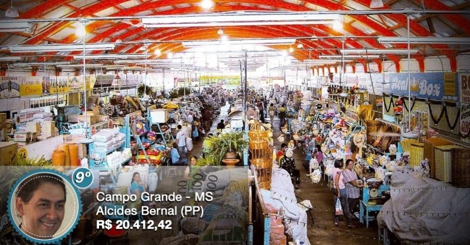 O prefeito de Campo Grande (MS), Alcides Bernal (PP), recebe o nono maior salário entre os prefeitos das capitais do país