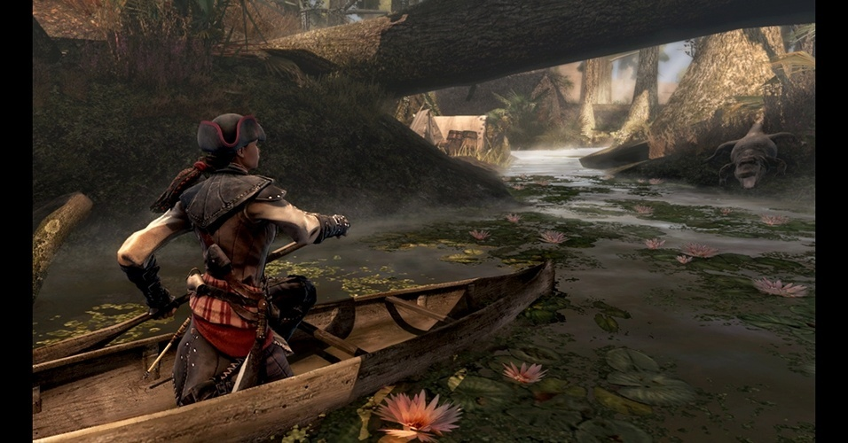 """Única protagonista mulher até agora, Aveline é a estrela de """"Assassin's Creed III: Liberation"""", para o PS Vita."""