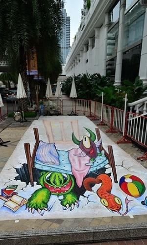 05.mar.2013 - O festival custou cerca de R$ 27 mil aos organizadores, que esperam com isso melhorar a imagem do bairro e atrair mais turistas
