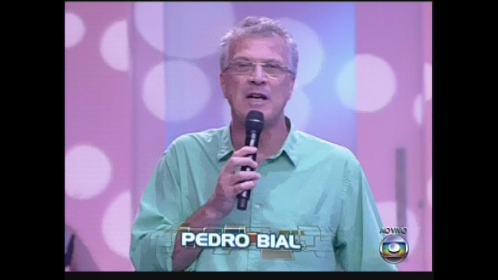 5.mar.2013 - Pedro Bial apresenta a nona eliminação do