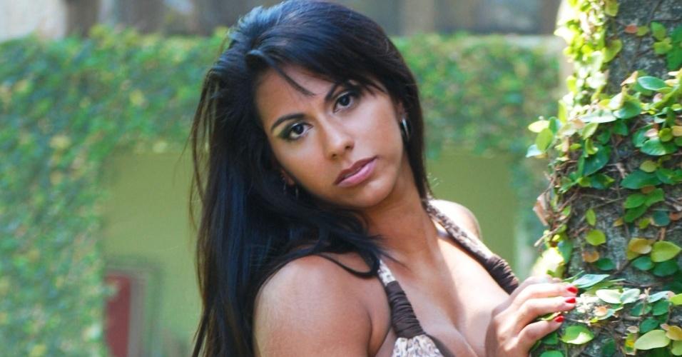 Barbara Carvalho se inscreveu para representar o Vasco no Belas da Torcida 2013