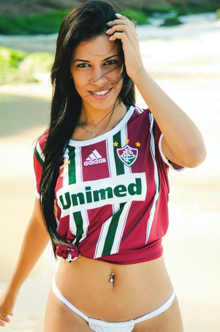 Karyne Marcelo se inscreveu para representar o Fluminense no Belas da Torcida 2013