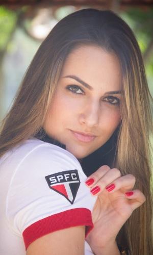 Raíssa Gonçalves pode representar o São Paulo no Belas da Torcida 2013