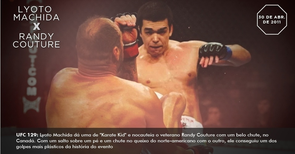 UFC 129: Lyoto Machida d uma de 