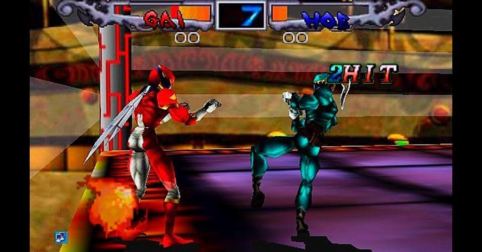 Uma tentativa de colocar heróis em estilo japonês nas arenas de luta