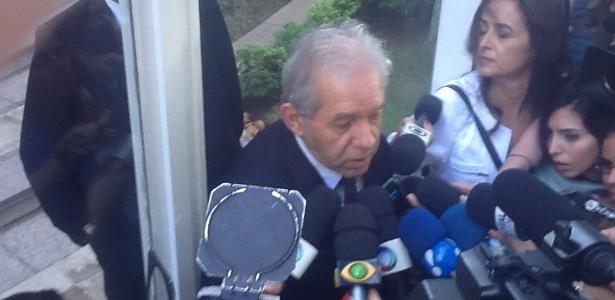 6.mar.2013 - Delegado Itagiba (foto) deu explicações sobre a morte do cantor em coletiva