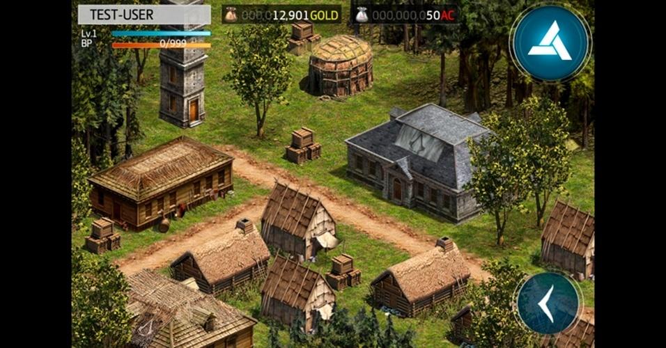 """Para iOS e Android, """"Assassin's Creed: Utopia"""" desafia o jogador a criar a sua própria cidade colonial"""
