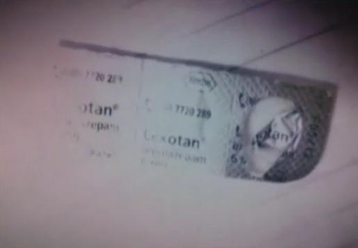 8.mar.2013 - Lexotan, medicamento usado como calmante, também foi encontrado no apartamento do cantor Chorão em Pinheiros