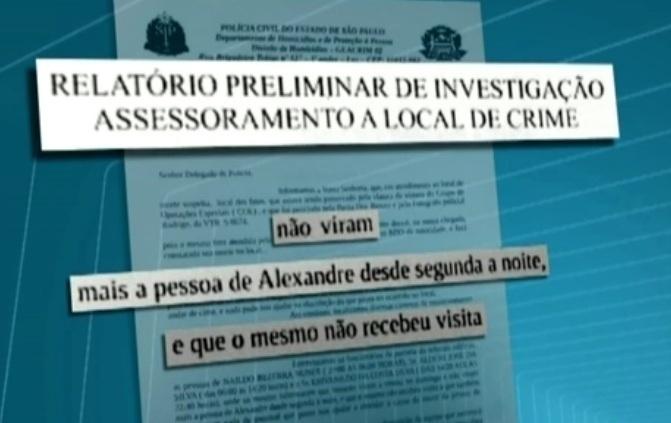 8.mar.2013 - Porteiros ouvidos no boletim de ocorrência disseram que não viram Chorão após a noite de segunda-feira