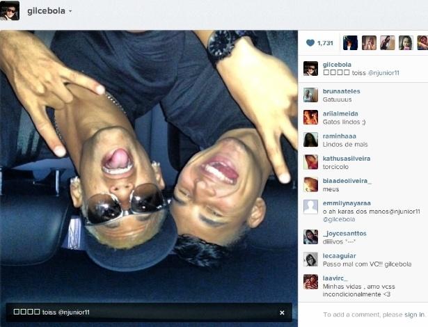 Gil Cebola posta foto ao lado do par  231 a Neymar no Instagram a132f2d788e61