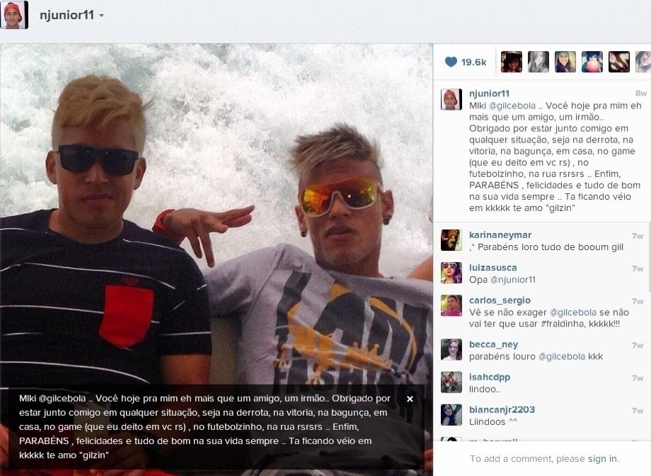 Neymar posta foto e manda mensagem para o   39 par  231  82fdae3f2a9d3