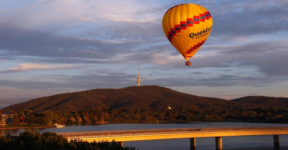 Canberra, na austrália. o evento vai até o dia 17 e deve receber