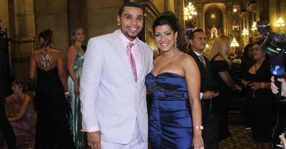 Em entrevista ao UOL, Naldo contou que irá se casar com Mulher Moranguinho ainda em 2013. O cantor disse que