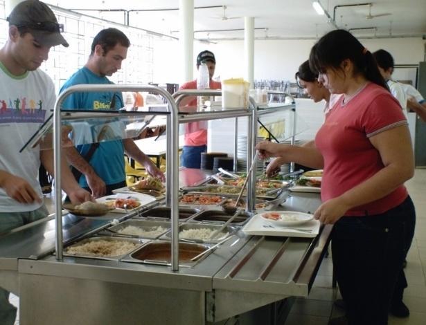 Restaurante universitário da UFMG (Universidade Federal de Minas Gerais) - campus de Montes Claros