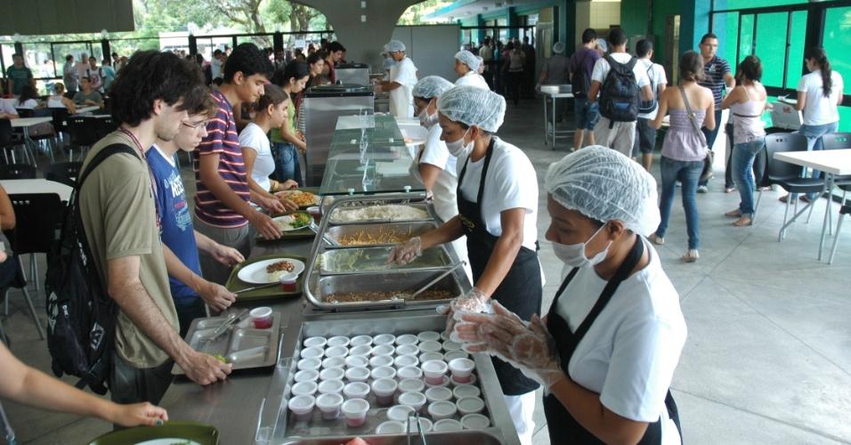 Restaurante universitário da UFPE (Universidade Federal de Pernambuco)