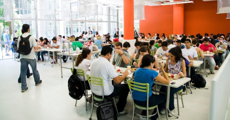 Restaurante universitário da UFRJ (Universidade Federal do Rio de Janeiro) - Centro de Tecnologia (CT/UFRJ)