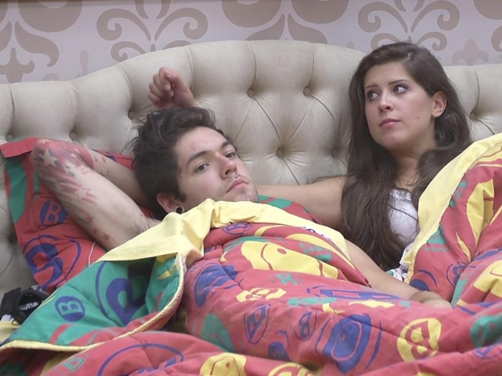 11.mar.2013 - Andressa acredita que ela e Nasser serão vetados por André
