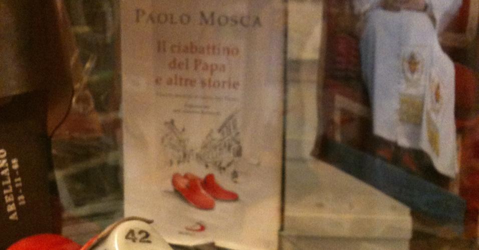 12.mar.2013 - O local, localizado no número 30 da via del Falco, em Roma, ao lado do Vaticano, ficou famoso e ganhou a apelido de