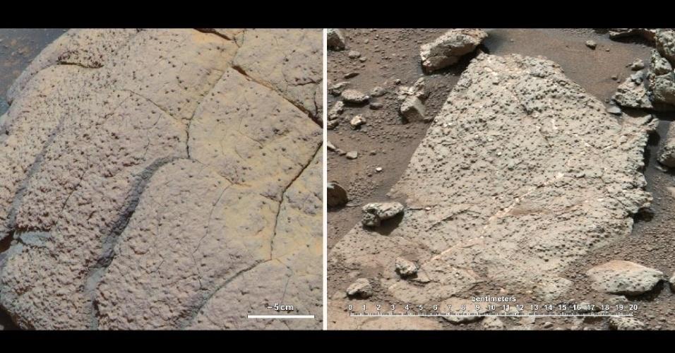 12.mar.2013- Nasa encontra sinais de que Marte teve condições para a vida no passado