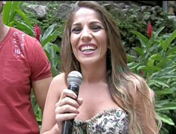 13.03.2013 - Anamara falou sobre sua eliminação após discussão com Fernanda