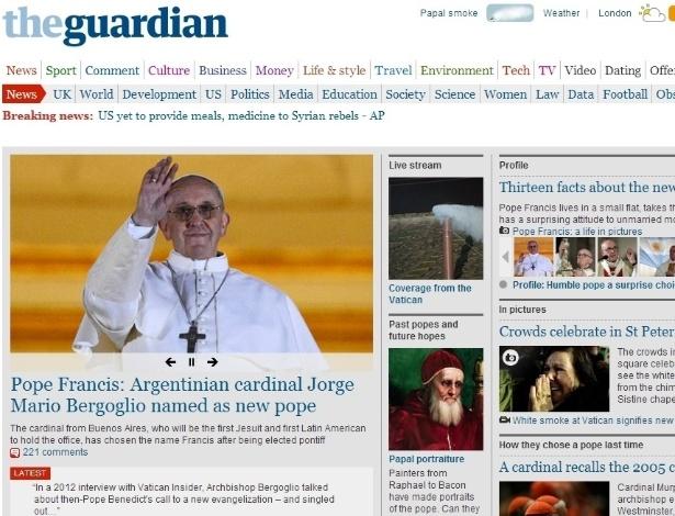 13.mar.2013 - O jornal inglês