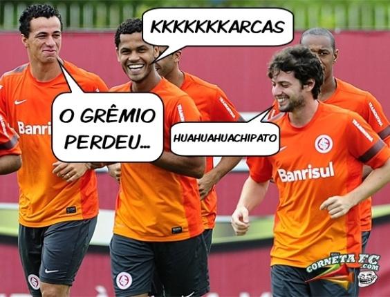 Corneta FC: Inter inventa novo jeito de rir do Grêmio