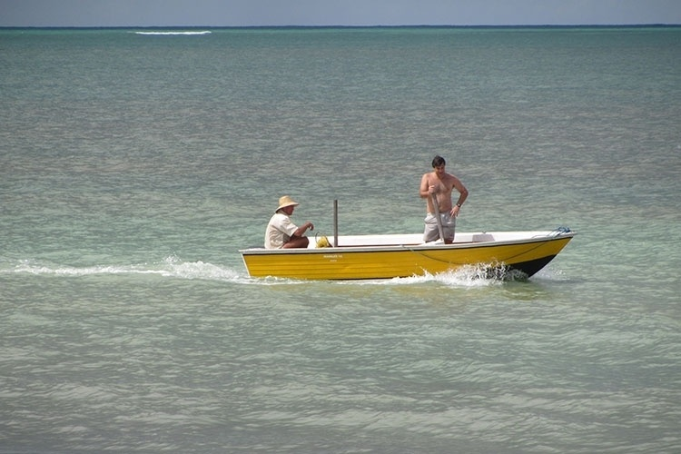 A pesca é a principal atividade dos moradores de Paripueira