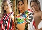 álbum especial: São-paulinas estrelam ensaio do Belas da Torcida