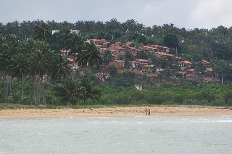 Vista da Praia Sonho Verde
