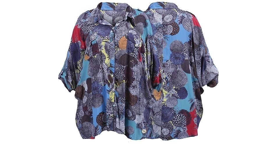Camisa estampada colorida; R$ 283,43, na Mormaii (www.mormaii.com.br). Preço pesquisado em março de 2013 e sujeito a alterações