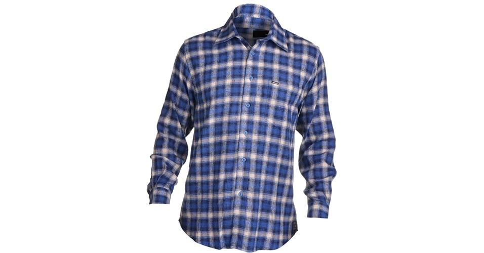 Camiseta xadrez de manga longa da Hurley; R$ 89,99, na Kanui (Tel.: 11 4005-1046). Preço pesquisado em março de 2013 e sujeito a alteração