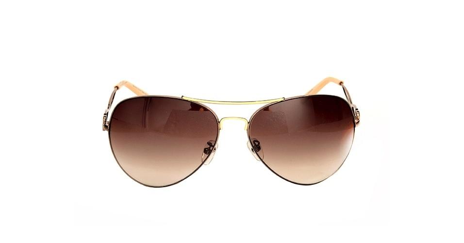 Óculos com lente degradê marrom; R$ 160, na Mitty (www.mitty.com.br). Preço pesquisado em março de 2013 e sujeito a alterações
