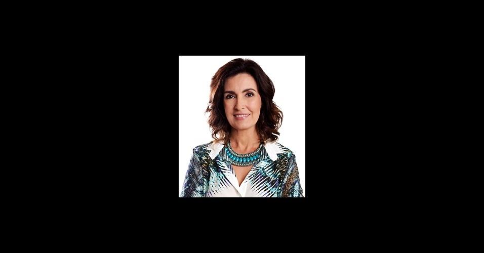 Os maxicolares usados pela apresentadora Fátima Bernardes são sempre cobiçados pelo público da Globo. Em fevereiro não foi diferente e a peça azul da designer Bruna Prado entrou em quinto lugar na lista de acessórios mais pedidos