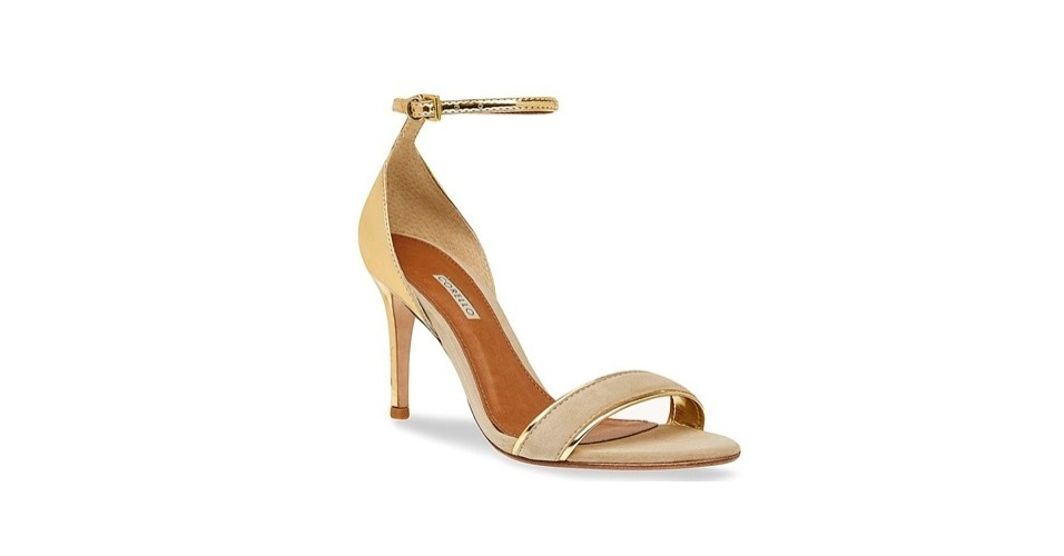 Sandália delicada fácil de ser customizada para ficar como a de Lívia (Claudia Raia); R$ 119, na Corello (www.corello.com.br). Preço pesquisado em março de 2013 e sujeito a alterações