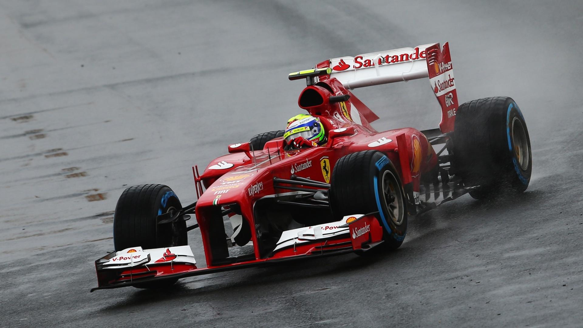 16.mar.2013 - Felipe Massa ficou em sexto no Q1 antes da interrupção que adiou o treino do GP da Austrália para sábado à noite