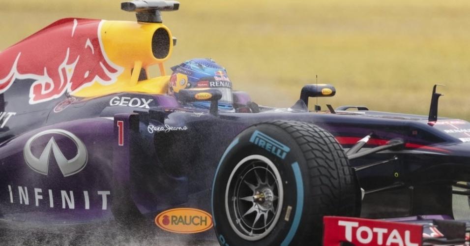 Sebastian Vettel faz o melhor tempo e fará a pole position no Grande Prêmio da Austrália, neste domingo