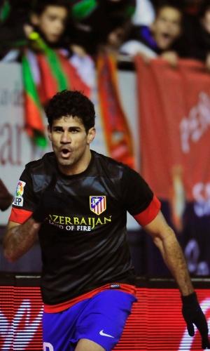 Pouco conhecido no Brasil, Diego Costa foi uma das surpresas da lista de Felipão para amistosos contra Itália e Rússia