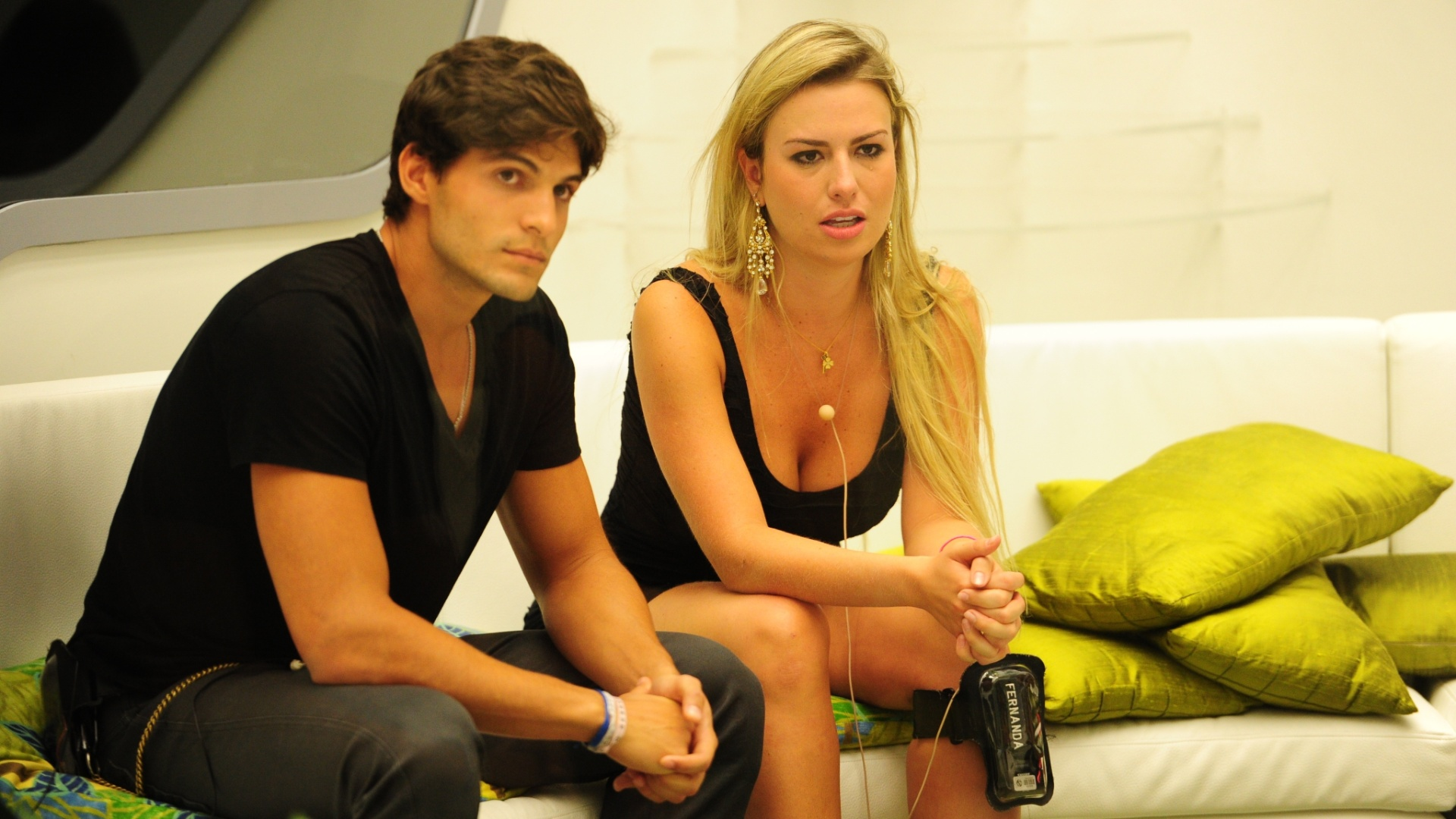 17.mar.2013 - Nasser indica André e Fernanda para o paredão