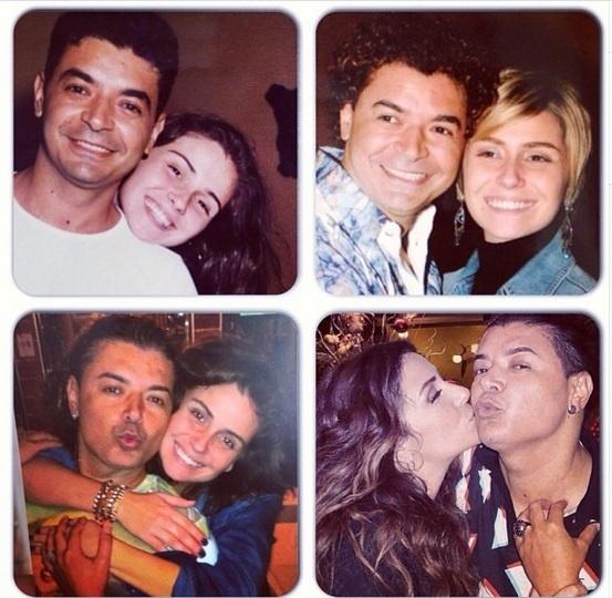 18.mar.2013 - David Brazil faz linha do tempo com fotos dele e de Giovanna Antonelli