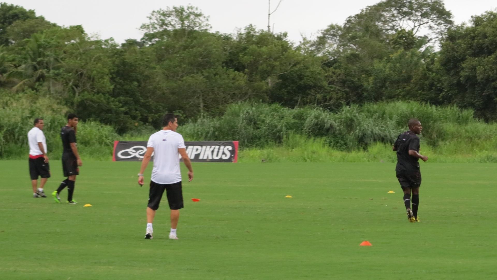Jorginho comanda seu primeiro treinamento como técnico do Flamengo